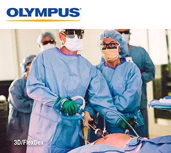 Olympus 3D/FlexDex® for Minimal Access Surgery Simplifies